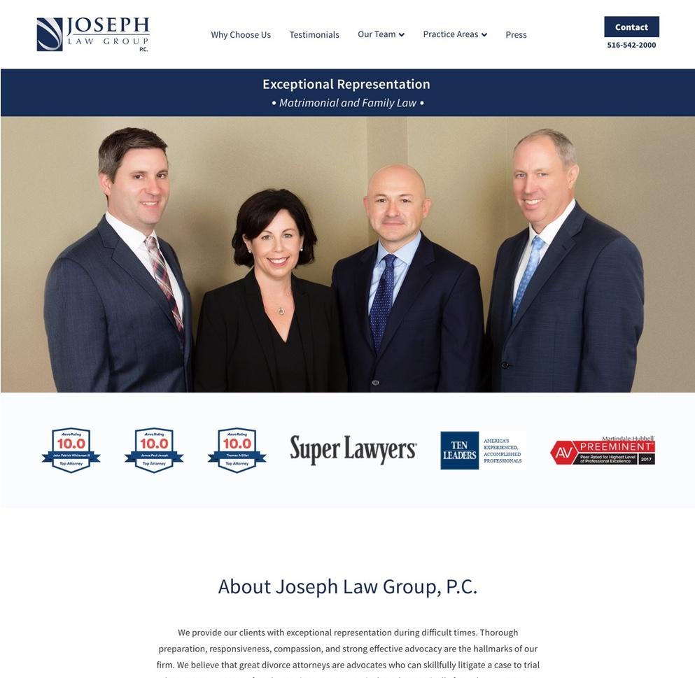 Home | Joseph Law Group, P.C. | Garden City Divorce & Family Lawyers (2019-05-28 09-32-33)